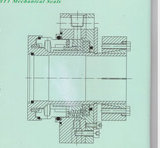 석유 화학 산업 (HT1)에 적용되는 비표준 기계적 밀봉