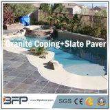 Granito/piedra arenisca/pizarra de piedra naturales para hacer frente/piscina de la piscina que hace frente/cerco de la piscina
