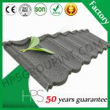 Venda quente em telhas de telhado revestidas do metal da pedra do preço de fábrica de África