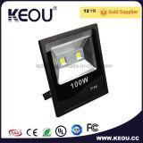 広州の工場10W 30W 50W 100W IP66穂軸LEDのフラッドライト
