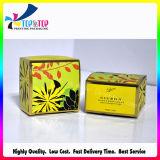 Ecoの友好的な卸売の折る紙箱の自然で装飾的な包装