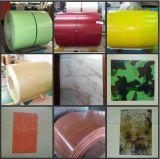 Hot revestimento colorido mergulhado aço galvanizado em bobina / folha (TS250)