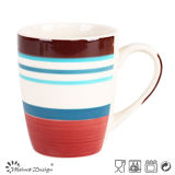 16PCS Stripe Handpainting Ceramic Dinner Set