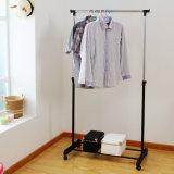 Одежды шкаф DIY дешевые, шкаф костюма металла Одиночн-Штанги Extendable