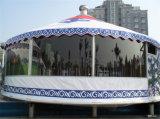 Tente de luxe de famille de tente de Yurt de vente chaude pour camper