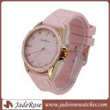 Montre-bracelet promotionnelle de silicone de mode