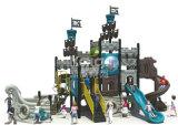 Спортивная площадка напольных привлекательностей малышей пластичная с характеристикой пирата