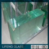 Sécurité Glass/Toughened Glass /Tempered Glass avec Polished/Grind/U/C/Bevel Edge