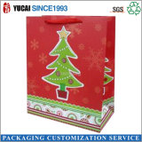 Vente en gros chaude de sac de cadeau de papier de sac de Noël de la vente 2016