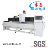 Горизонтальная кромкозагибочная машина CNC стеклянная для молоть автоматическое стекло