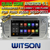 Carro DVD GPS do Android 5.1 de Witson para Ford Mondeo (2007-2013) com sustentação do Internet DVR da ROM WiFi 3G do chipset 1080P 16g (A5762S)