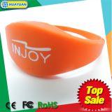 Браслет Wristband NFC пригодности MIFARE 1k RFID Sauna гимнастики
