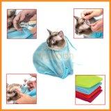 Katze-Karosserien-waschende Reinigung, die Ineinander greifen-Pflegenbeutel badet