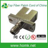 Adaptador óptico SMA de fibra al Sc