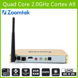 8GB Emmc Gigabit Ethernet Dual Band WiFi를 가진 Amlogic S812 Android 텔레비젼 Box T8 Plus
