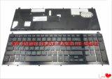 Nuova tastiera originale del computer portatile per l'HP Probook 4520 4520s 4525s 4525 con il blocco per grafici nero