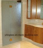 vidro Tempered 12mm desobstruído do banheiro de 6mm 8mm 10mm com entalhe preciso do furo