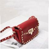 赤はリベットで留める涼しいBags Korean Version Mini様式の女性袋(A070-3)を