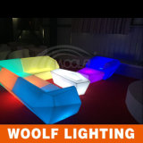 Sofas colorés modernes de sofa en plastique