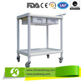 Trole Multifunctional prático barato do serviço público do ABS do hospital 2-Layers
