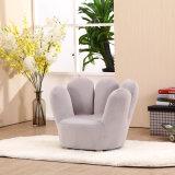 مخمل بناء إصبع أريكة مع ساق خشبيّ