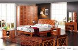 Neueste MDF-lebende Schlafzimmer-Möbel-Königin-Betten