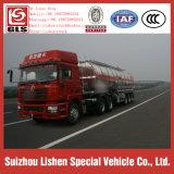 Tri rimorchio del camion di nave cisterna del combustibile della lega di alluminio del semirimorchio della petroliera degli assi