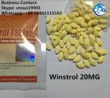 El polvo fuerte de los esteroides de las píldoras el 110% de Oxan marca en la tableta Anavar