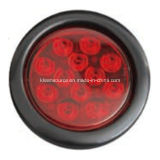 "LED 4 "" Round Stop/Tail Light con Reflector"