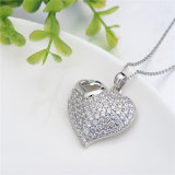 Neues Come Vogue 925 Sterling Silver Pendant mit CZ (N-0042)