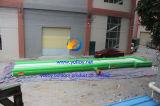 Pista corriente inflable para para la gimnasia