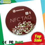 epaymentのためのプログラム可能な13.56MHz ISO18092 NTAG213 NFCの札