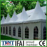 Tienda al aire libre móvil los 5mx5m de la exposición de la pagoda del marco de la azotea del PVC