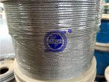 Веревочка провода 316 6X19+PP-3mm нержавеющей стали