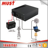 fora do carregador 2400va 220V/230V do inversor 20A da HOME da grade