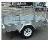 Горячий DIP гальванизировал сваренный трейлер коробки Tipper с алюминиевой резцовой коробка