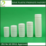 120ml白いカラープラスチック薬のびん