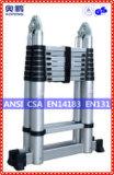 Telescopische Ladder van het Aluminium van de Uitbreiding van de Kruk van de Stap van het Huishouden van het staal de Uiteindelijke (ap-509a-500)