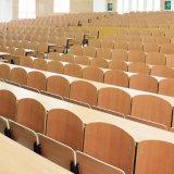 Таблицы и стулы для студентов, стула школы, стула студента, мебели школы, стула амфитеатра, автоматически поворачивают учя стул стальной звукоглушитель (R-6240)