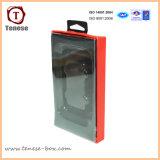 Empaquetage de empaquetage d'écouteur de cellules de boîte de fenêtre de PVC