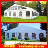 Tenda trasparente di approvvigionamento della tenda foranea di evento di cerimonia nuziale della parete per la cerimonia nuziale