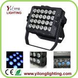 Luz al aire libre impermeable de IP65 Rgbaw 24X15W