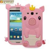 Крышки случаев мобильного телефона PC силикона оптовой продажи изготовления Dongguan изготовленный на заказ дешевые для франтовской галактики S7 Samsung телефона