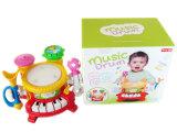 Het plastic Muzikale Speelgoed van de Trommel met het Licht van de Flits (H4646017)
