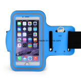 iPhone、Water Resistant Sweat Proof (Blue)のためのスポーツArmband
