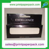 Anunció el rectángulo cosmético impreso color del lápiz labial de la manera