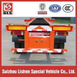 化学Liquid Tank Container Corrosive Tanker Transportation 20cbm Semi Trailer