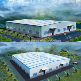 Vorfabriziertes helles bewegliches Gebäude-Stahlkonstruktion des Rahmen-2016