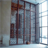 Hot Sale Office Partition Screen PVD Color Metal Room Divider