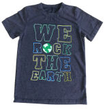 면 질 Sqt-610로 입어 아이들에 있는 편지 t-셔츠 소년 t-셔츠